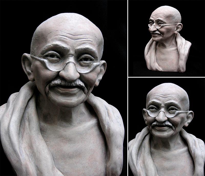Mahatma Gandhi (1869-1948) La Grande Âme de l'Inde