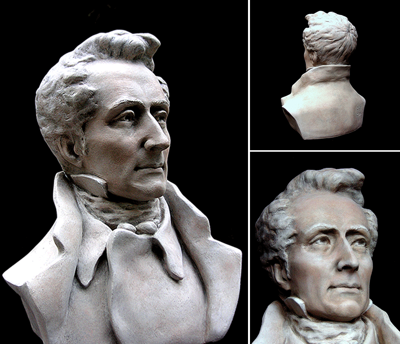 Alphonse de Lamartine (1790-1869)Poète, écrivain, homme politique français